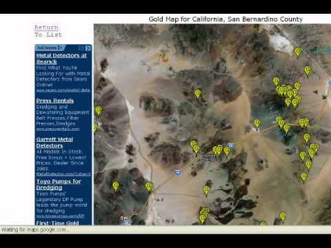 Free Gold Maps. No, really.
