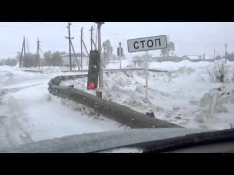 Шторм. Муравленко 20.03.2016