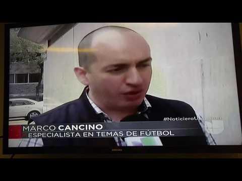 Mexico vs Chile Noticiero Univision sobre la HUMILLANTE DERROTA!