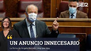 """Àngels Barceló sobre el anuncio del ministro de Justicia: """"Innecesario"""""""