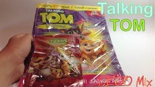 обзор журнал talking tom и друзья n6 2015 пакетик сюрприз