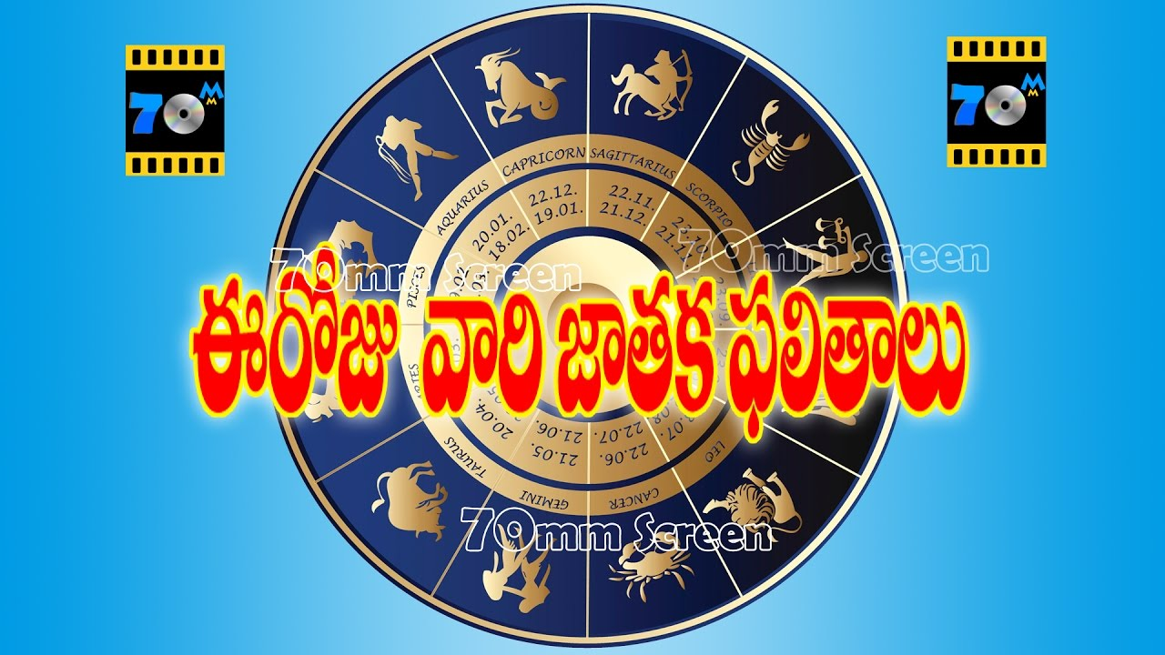 today astrology in telugu