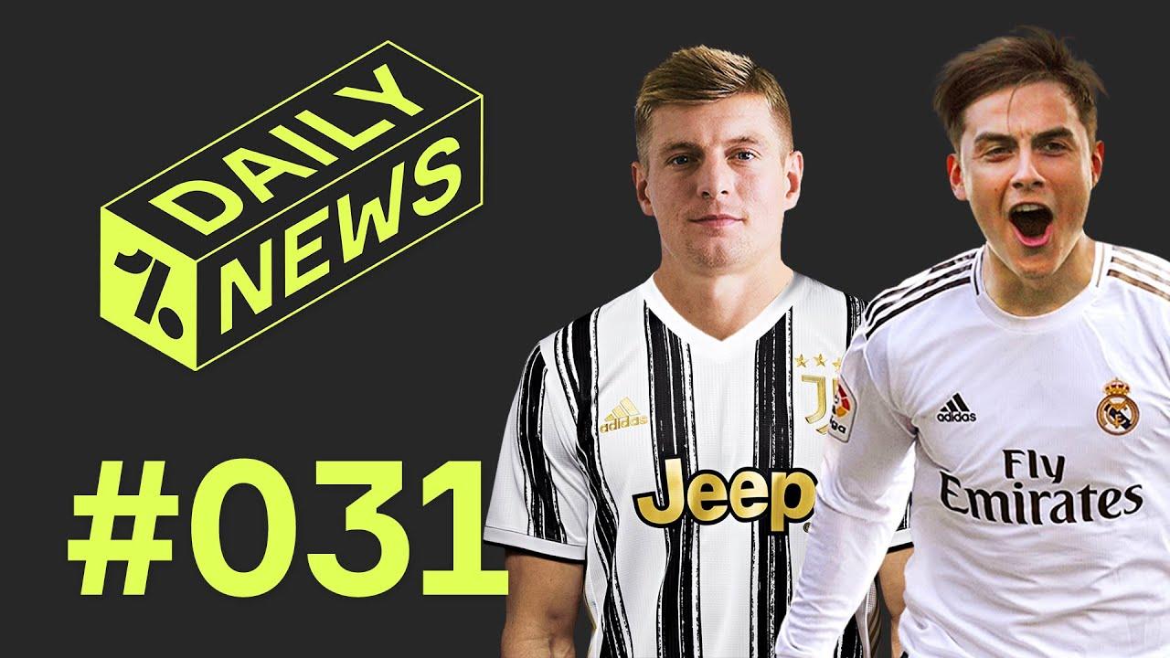 HUGE Real Madrid and Juventus swap deal! + Barca chase Bernardo Silva ► Daily News