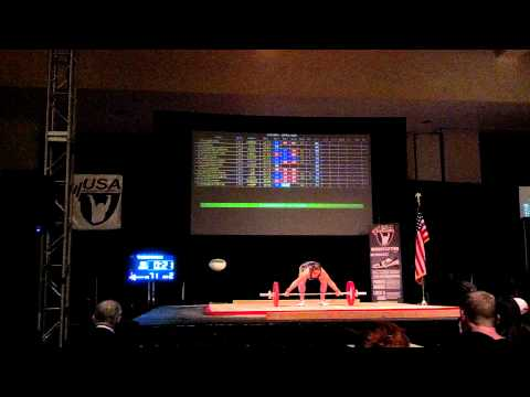 """Patty """"Soxx"""" Maizels 71kg Sn FA @ 2012 American Open, Palm Springs, Ca. 11-30-12"""