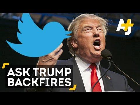 Donald Trump's #AskTrump Q&A Backfires On Twitter