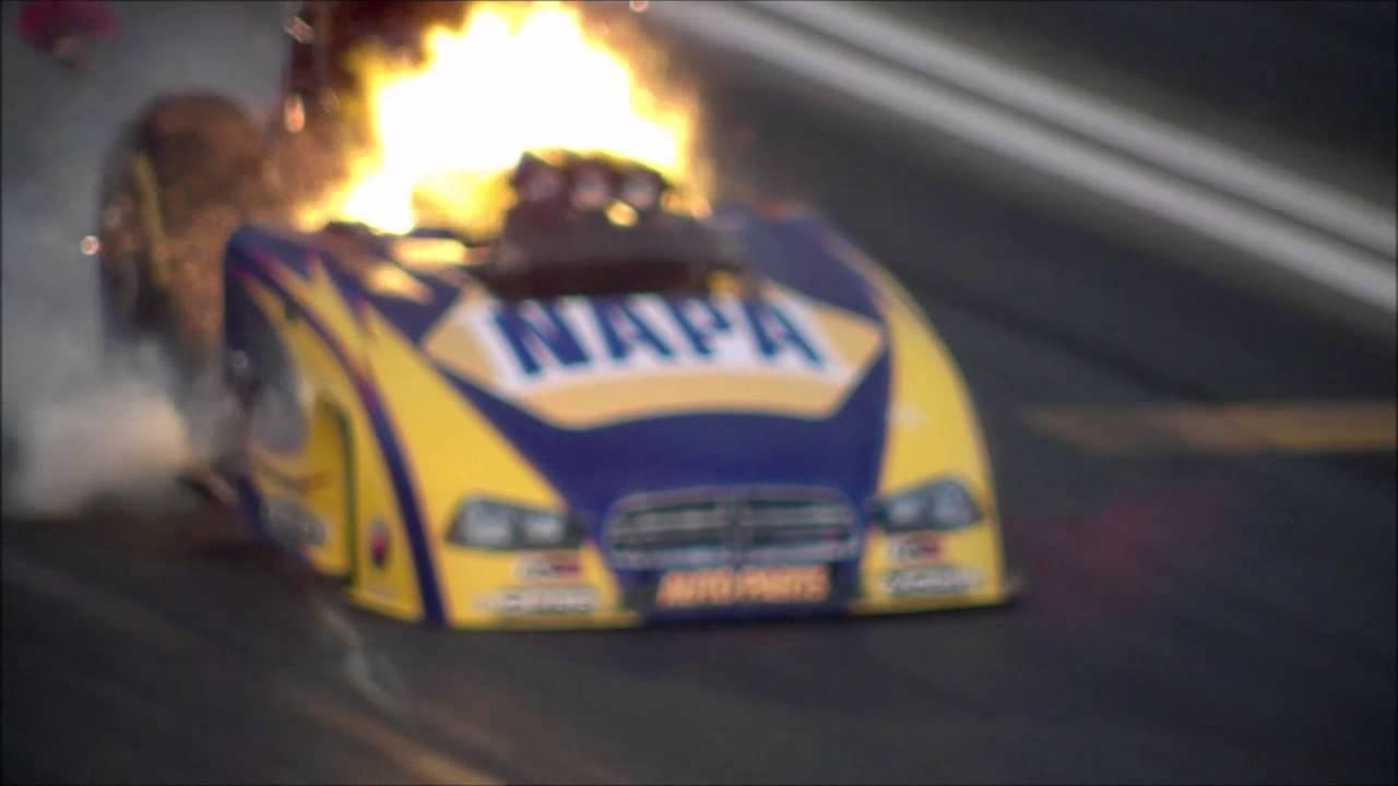 Ron Capps Insane Drag Racer Explosion At Nhra