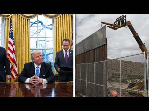 Trump Orders Construction Of Border Wall