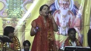 Deewana tera aaya, baba teri shirdi me, Singer Sonu Khan in Surmai Jagran group