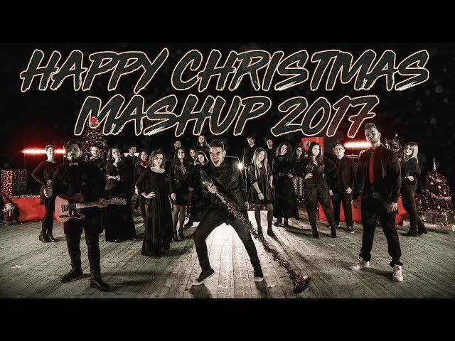 Circolo delle farfalle Ft. Flowing Chords - Happy Christmas Mashup 2017