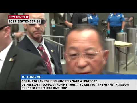 North Korean Foreign Minister calls Trump a 'barking dog'