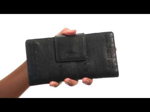 Fossil Emma Tab Clutch Embellished RFID SKU: 8771229