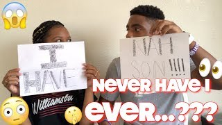 BOYFRIEND & GIRLFRIEND PLAY 'NEVER HAVE I EVER'! 👀😱