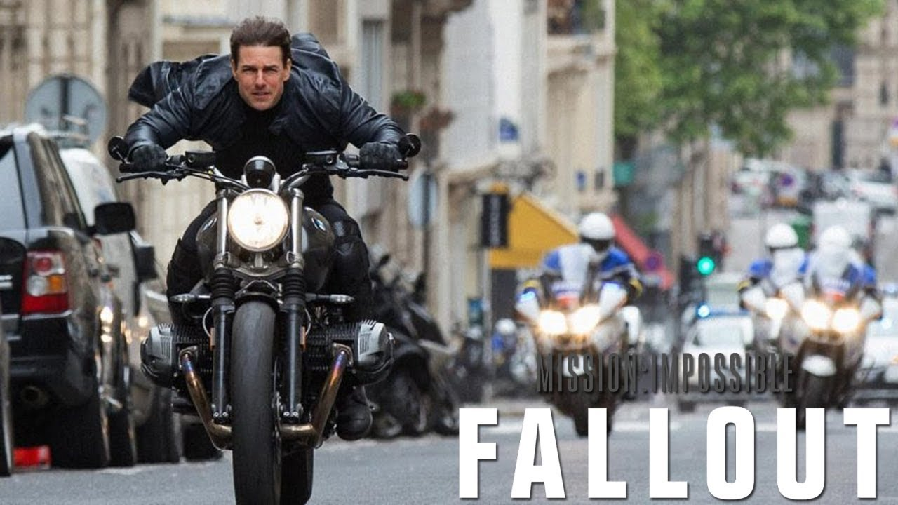 Mission Impossible Fallout Hd Motorcycle Chase In Paris Youtube