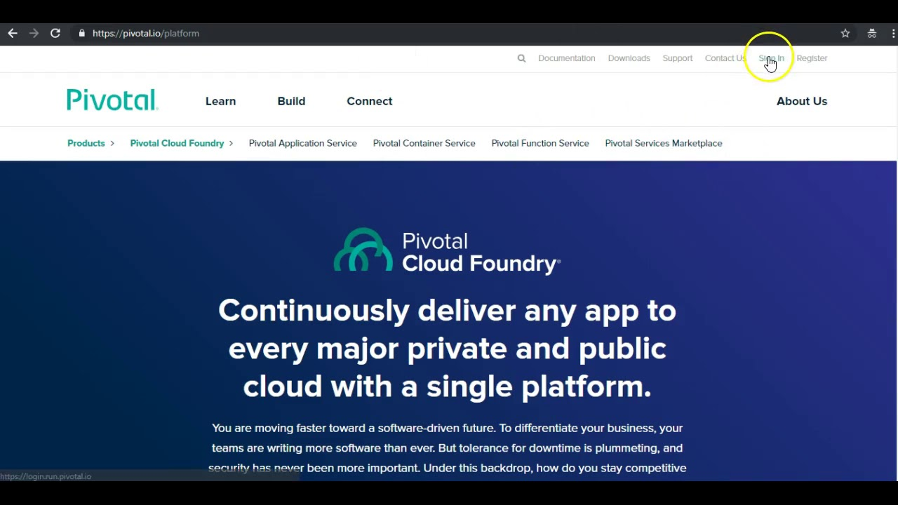PCF Tutorial - Deploying Spring Boot + MySQL app to Pivotal Cloud  Foundry(PCF)