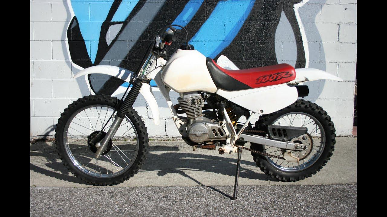 1998 Honda XR100r ... Great Trail / Play Bike ! - YouTube