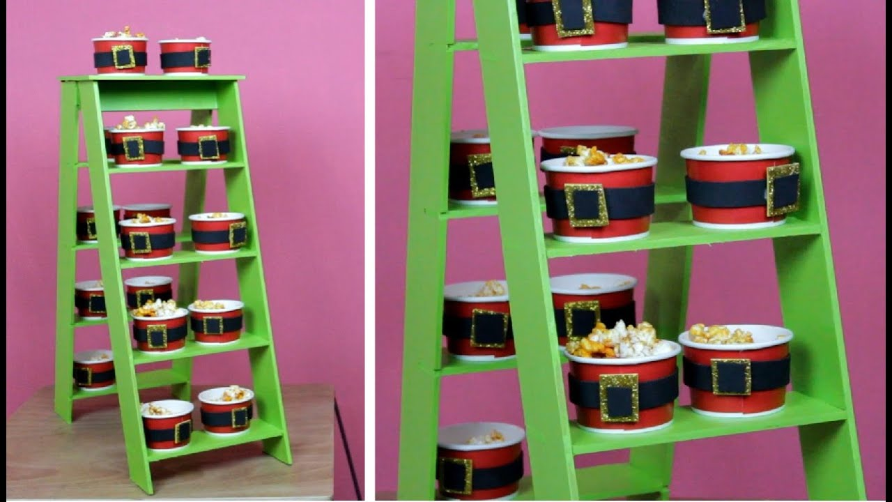 Mesa de dulces para navidad como se hace una mesa con dulces de navidad hablobajito youtube - Imagenes de muebles de carton ...