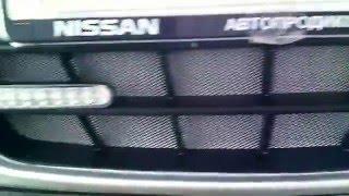Nissan Almera. Решётка бампера. Часть №3