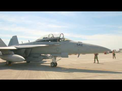 US Navy - EA-18G Growler Electronic Attack Aircrafts Deployed To Asia Pacific [1080p]