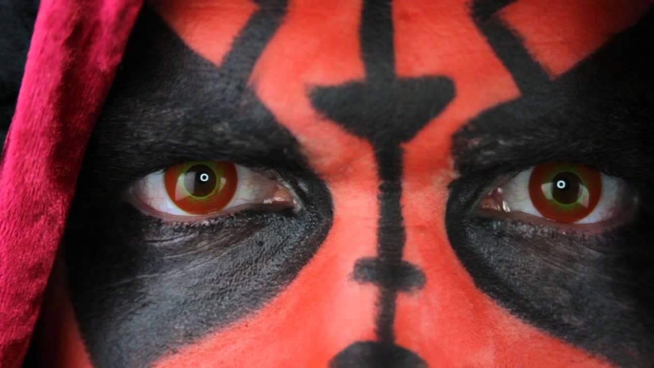 darth maul contact lenses eyesbright com youtube