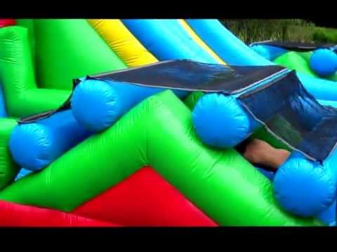 Awesome Bouncers & Party Rentals Adrenaline Rush Obstacle Course