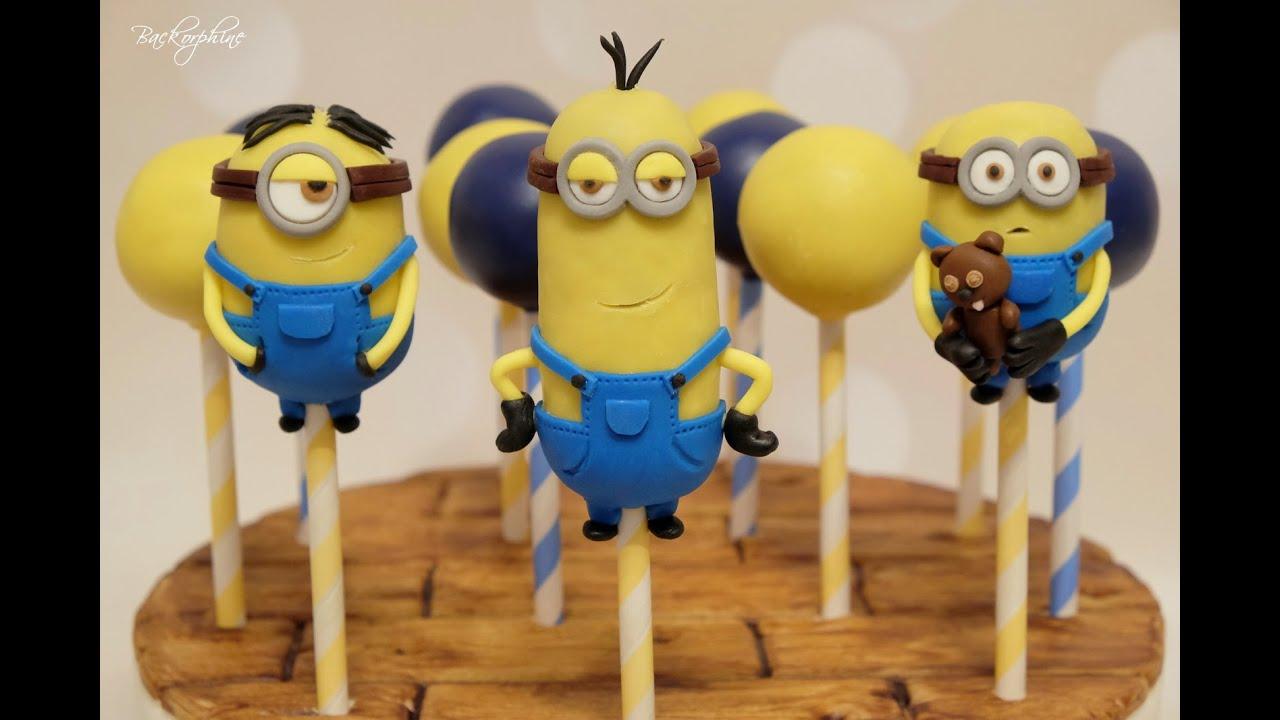 Image result for minion cake pops