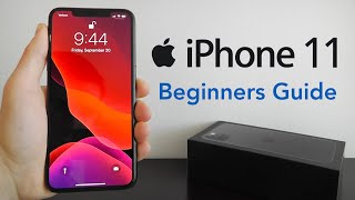 iPhone 11 - Complete Beginners Guide