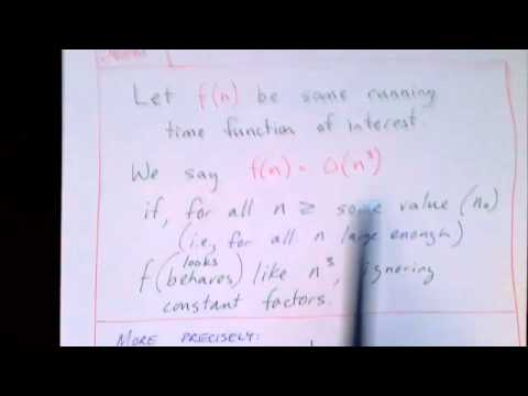 Lecture 58/65: Time Complexity and Big-O Notation