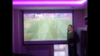 #проектор #экран #кино Как сделать кинотеатр дома! 4
