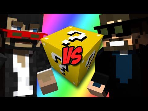 CaptainSparklez Vs  SSundee - Minecraft Lucky Blocks Battle