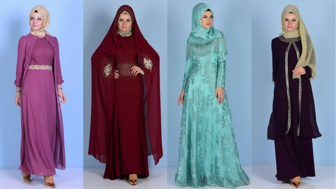 74da23ea72c85 Sefamerve Yeni Sezon Tesettür Abiye Elbise Modelleri 1/2 - YouTube