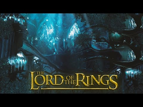 Lothlórien ◎ Lord Of The Rings [ASMR] Wind In The Trees - Ambience / Cinemagraph