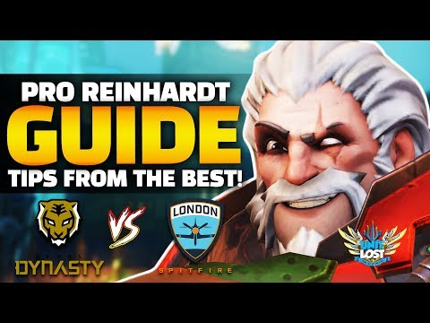 Overwatch - How to TANK! Reinhardt Guide ft Gesture and Fissure! thumbnail