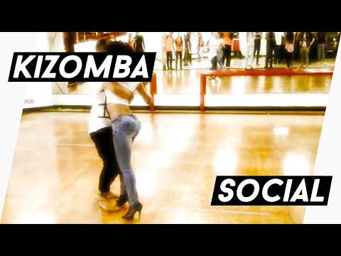 Kizomba Fusion in between classes - Kristofer Mencák & Yessica Guerrero - Caracas, Venezuela