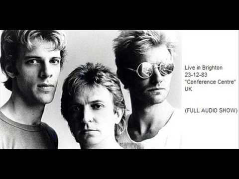 "THE POLICE - Brighton 23-12-83 ""Conference Centre"" UK (full show audio)"
