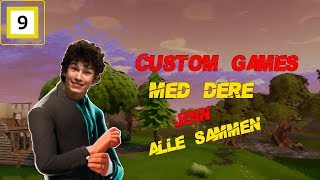 We've got Custom Games! Epic-Creator Code: DavidKielland-Norsk Fortnite Battle Royale