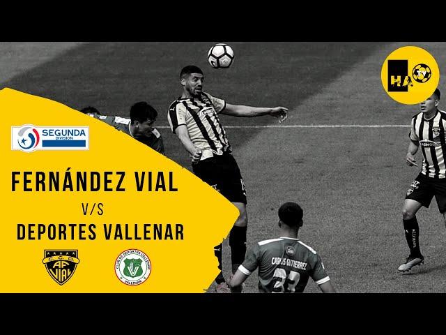 COMPACTO / DEPORTES VALLENAR (2) v/s FERNÁNDEZ VIAL (1) / SEGUNDA DIVISIÓN 2020