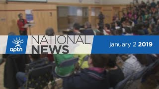 APTN National News January 2, 2019 – Remains of one snowmobilers located, AFN Chief looks back