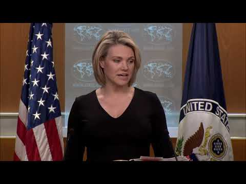 Department Press Briefing  - February 8, 2018