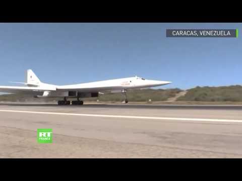 Venezuela : des avions russes arrivent à Caracas pour des manœuvres militaires conjointes