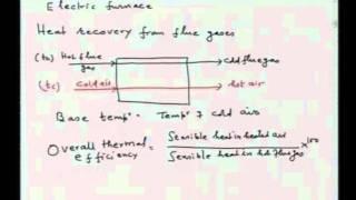 Mod-01 Lec-18 Heat Utilization in furnaces, energy flow diagrams