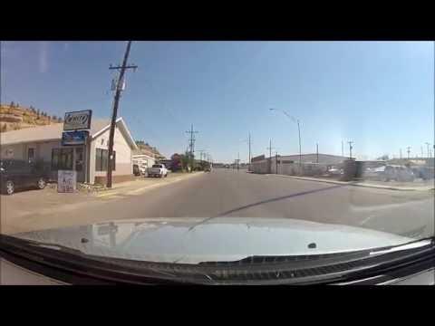 Driving Billings Montana