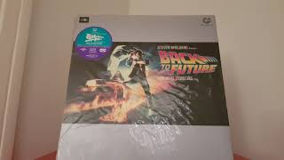 Back to the Future Muse Japanese NTSC Laserdisc LD Laser Disc High Definition Retour vers le Futur