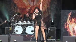 Xandria - Valentine (Metalfest 2014)