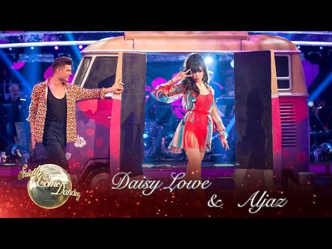 Daisy Lowe & Aljaz Salsa to 'Groove Is In The Heart' by Deee-Lite - Strictly Come Dancing 2016