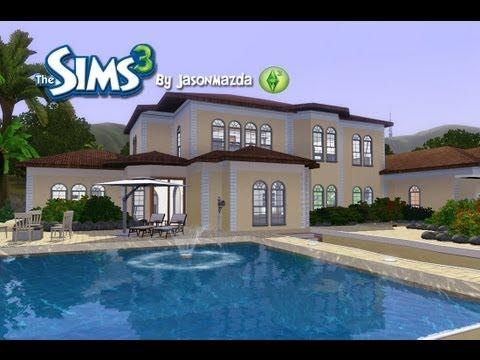 The Sims 3 House Designs Modern Villa Doovi