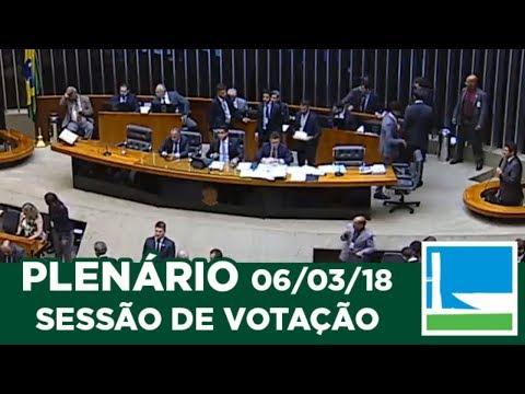 PLENÁRIO - Sessão Deliberativa - 06/03/2018 - 20:01