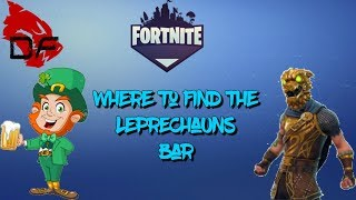 Fortnite Save the world: Where to find the Leprechaun's Pub