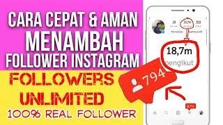 Cara Menambah Followers Instagram Cepat Dan Aman