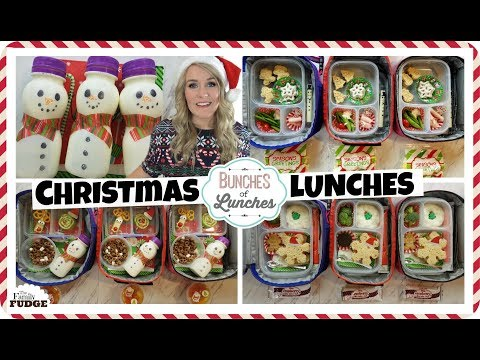 MORE Christmas School Lunch Ideas for KIDS + What They Ate 🎄 Bunches of Lunches
