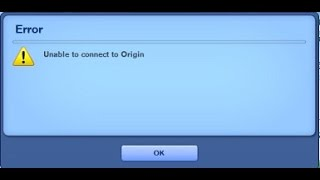 The Sims 3: Launcher: Unable to connect to Origin (Solution)